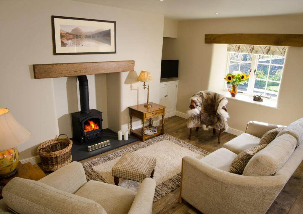 Mill House's Box Tree Cottage in Barbon living-room photo.