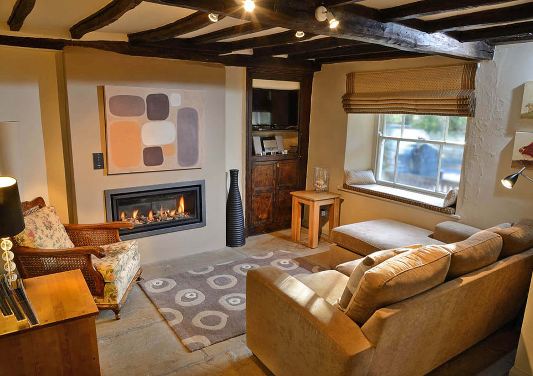 Mill House Cottages Settlebeck Cottage living-room photo.